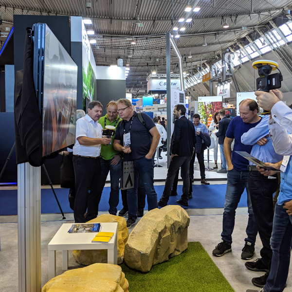 SiteVision at Intergeo 2019 - Trimble Booth