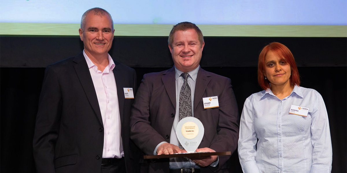 NZSEA SiteVision Winner 2019 Innovation and Commercialization