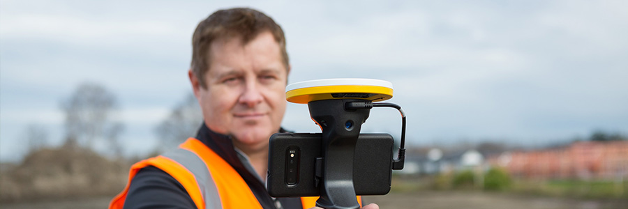 which phone case to use with Trimble SiteVision